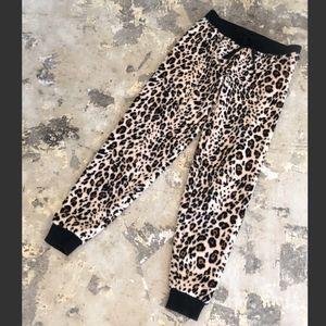 NWOT PJ Salvage Leopard Cheetah Pajama PJ Pants